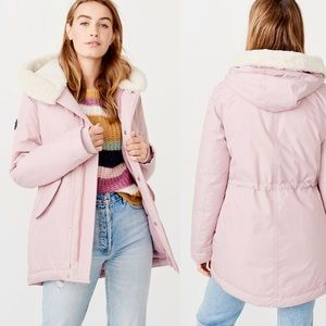 ✨New ABERCROMBIE & FITCH Cozy Puff Parka Lilac